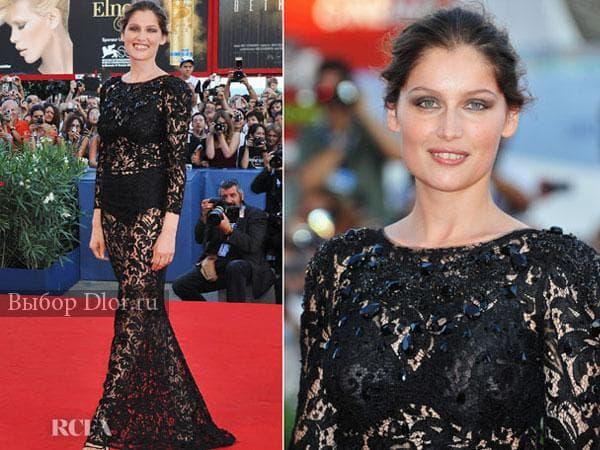 Черное платье Летиция Каста от Dolce&Gabbana