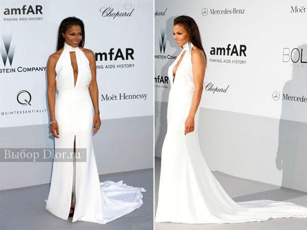 Белое платье-макси от Emilio Pucci