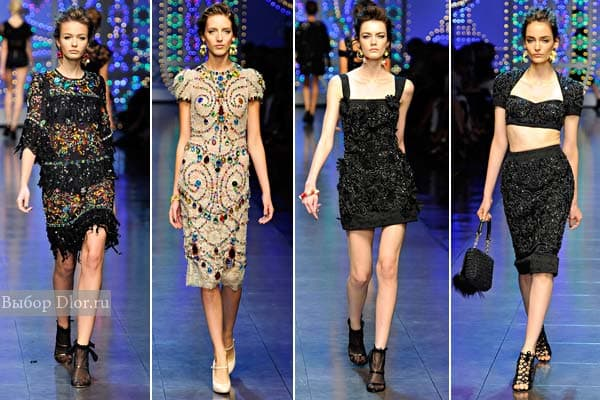 Вечерние платья весна 2012