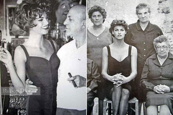 Первое платье-бюстье 1990