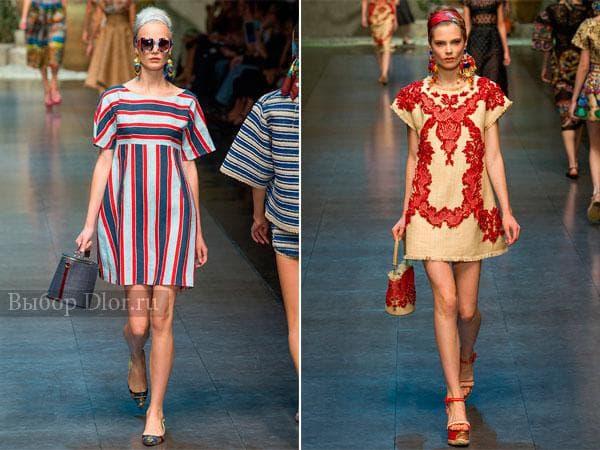 Платья-рубашка от Dolce & Gabbana