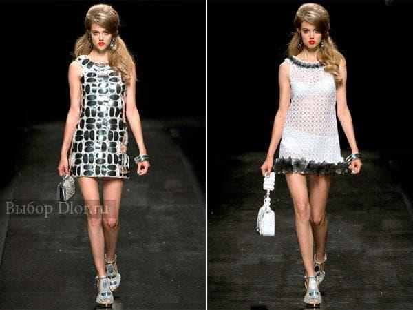 Коллекция платьев 2013 Moschino