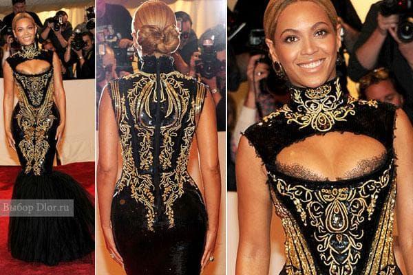 Beyonce в платье от Emilio Pucci