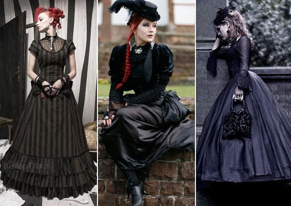 Длинные пышные платья с плотной ткани