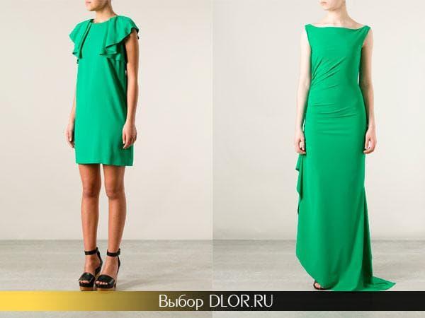 Модные платья на выпускной 2014