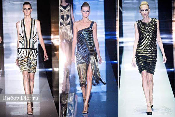 Коллекция платьев Gucci весна 2012