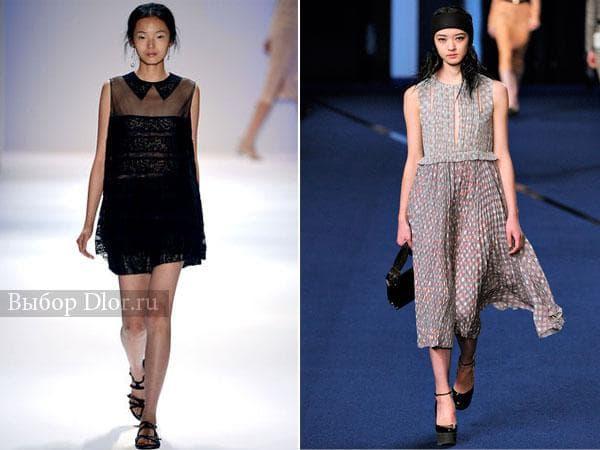 Коктейльные платья от  Tadashi Shoji и Sonia Rykiel
