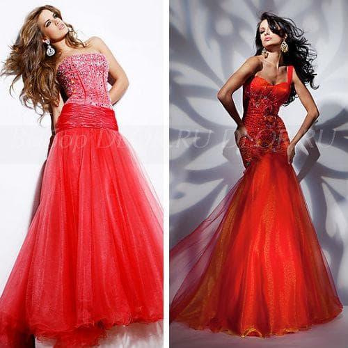 Красные платья для свадьбы