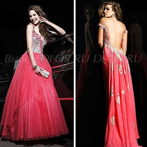 Пышные красные платья и платья в греческом стиле