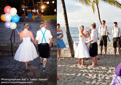Венчание на берегу моря