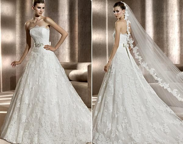 Белое платье ручной работы