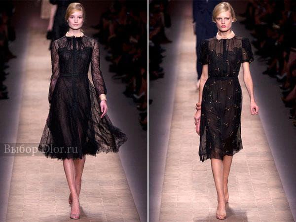 Строгие легкие платья от Valentino