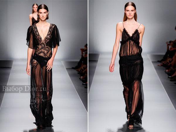Летние шифоновые платья в пол