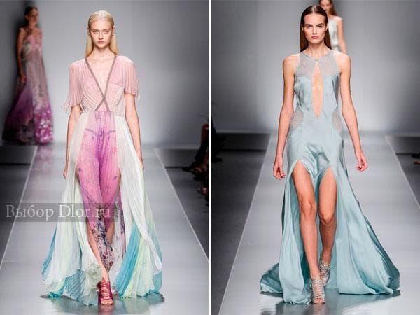 Фото других моделей платья от Blumarine