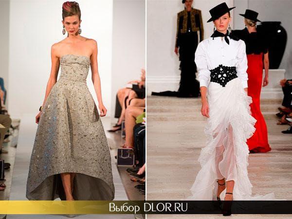 Фото модных платьев 2013