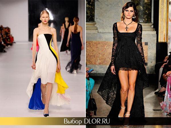 Фото стильных платьев от знаменитых дизайнеров