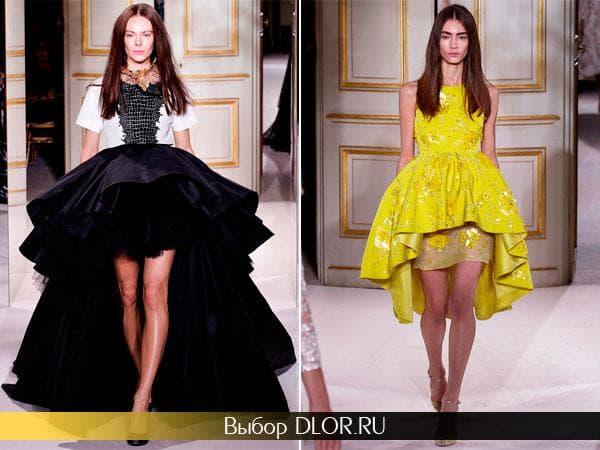 Вечерние платья Жан-Батиста Вали