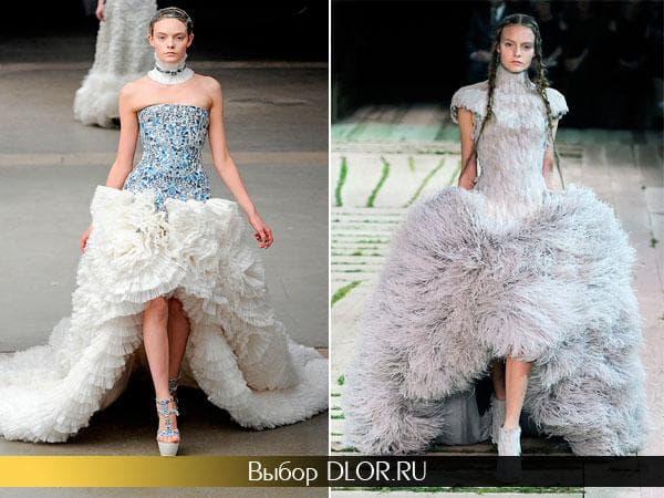 Пышные свадебные платья Alexander McQueen