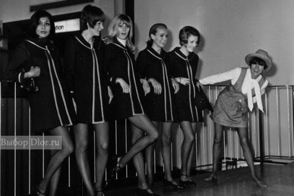Фото коротких платьев 60-х