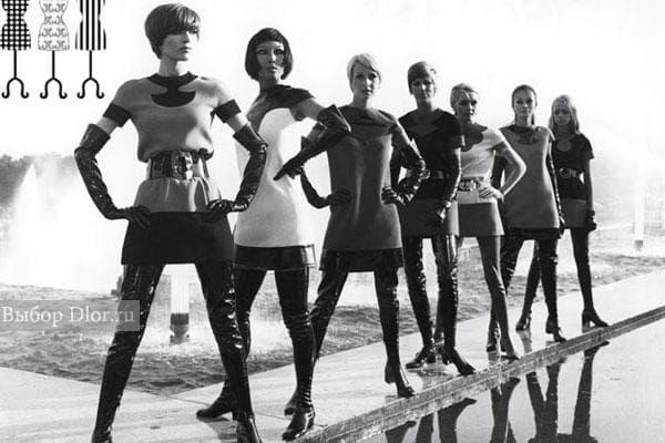 Мини-платья от Pierre Cardin