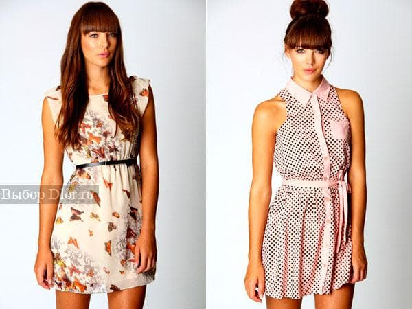 Стильные модели летних платьев