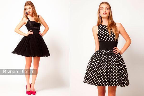 Фасоны и модели платьев в стиле 60-х