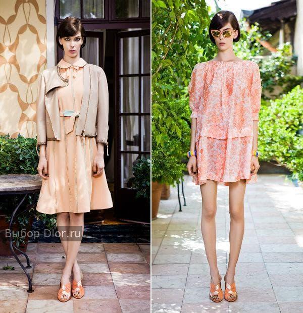 Модные повседневные платья 2013 от Moschino