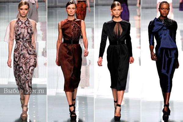 Шикарные наряды от Christian Dior 2012