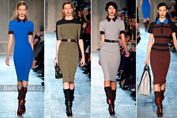 Офисные платья от Victoria Beckham