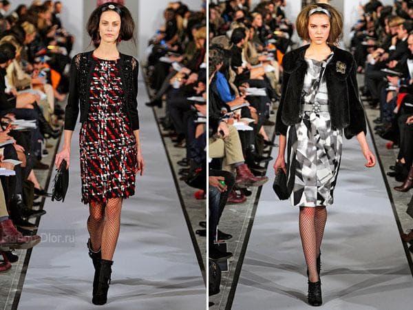Фото платья-сарафана от Oscar de la Renta