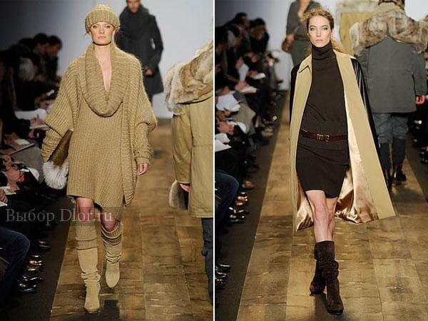 Теплые платья от Michael Kors
