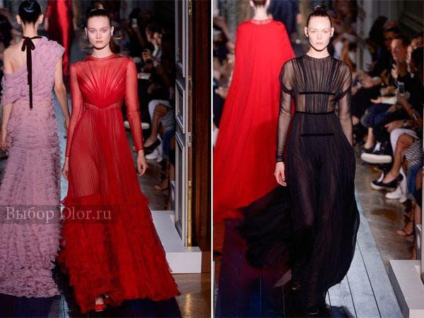 Вечерние платья от Valentino