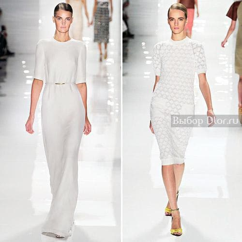 Белые летние платья от Derek Lam