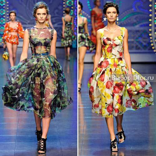Шикарная коллекция Dolce & Gabbana