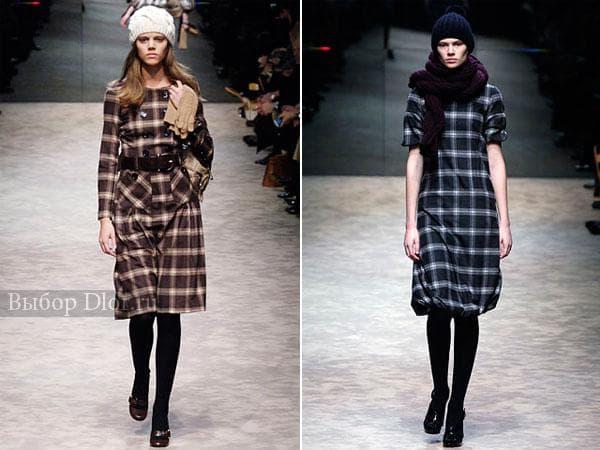 Стильные платья от Burberry Prorsum