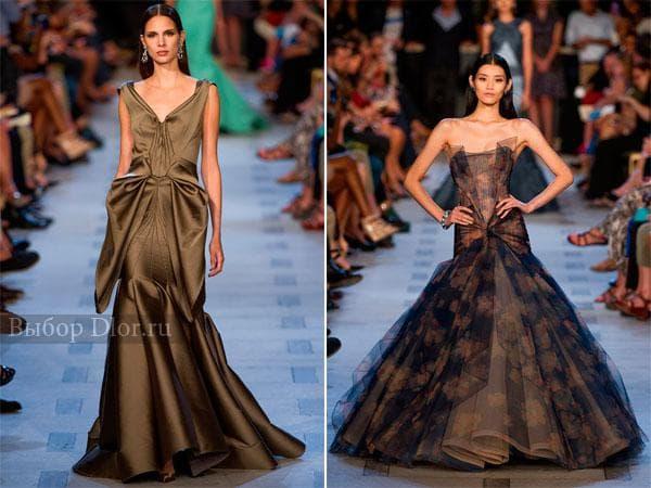 Элегантные вечерние платья от Zac Posen