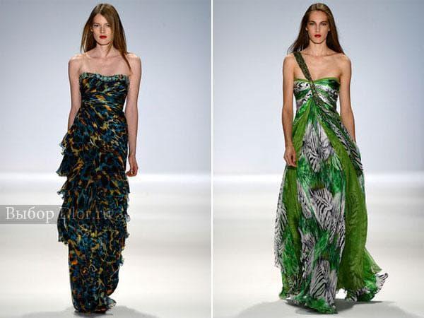 Оригинальные модели платьев от Carlos Miele