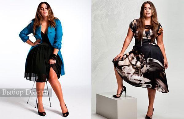 Черное шифоновое платье с пиджаком и атласное платье средней длины