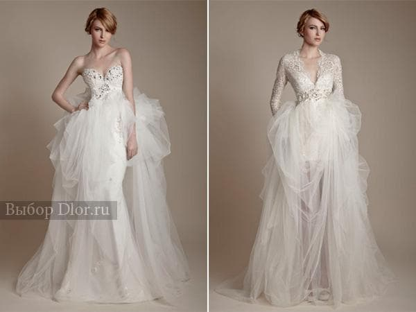 Оригинальные модели платьев в стиле ампир