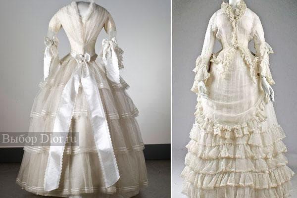 Старинные бальные платья