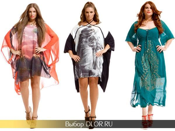 Воздушные летние платья для полных от Mat Fashion