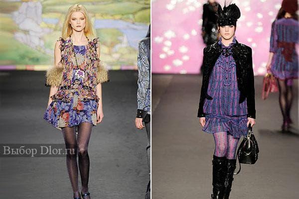 Шикарные платья от Anna Sui