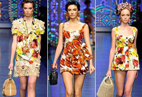 Фото платья-туники от Dolce & Gabbana