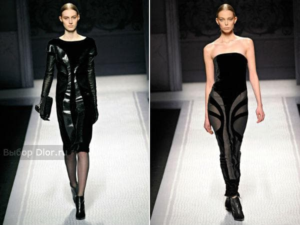 Строгие платья от Alberta Ferretti