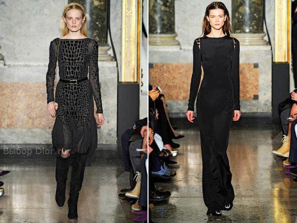 Зимняя коллекция платьев от Emilio Pucci