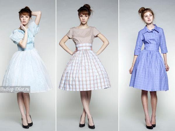 Фото платьев в стиле 60-х