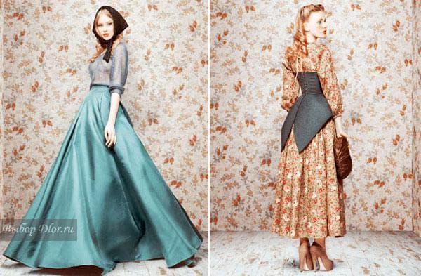 Винтажная коллекция одежды Ульяны Сергиенко