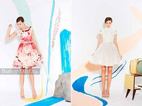 Платья в ретро-стиле с пышной юбкой