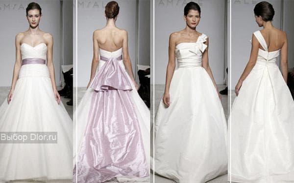 Свадебные наряды с подиума