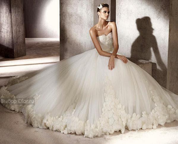 Фото платья кремового цвета